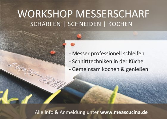 Workshop Messerscharf